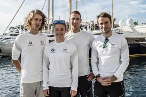 Das Team des DTYC für die J 70 Europameisterschaft in Monaco